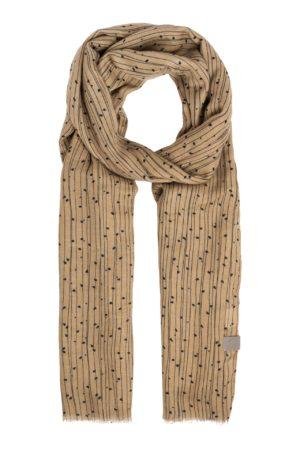 Zusss-sjaal-met-twijgenprint-kaki-no28wonen.nl