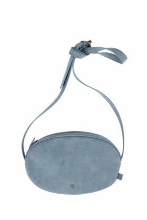 Zusss- no28wonen - schoudertas ovaal grijs-blauw - No 28 wonen & lifestyle