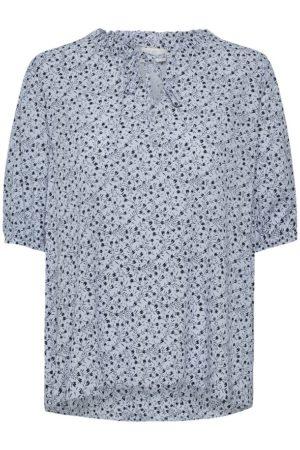 KAberna blouse met korte mouw van Kaffe shop je bij no28wonen.nl