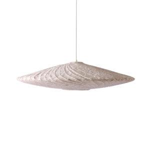 HK living bamboo/paper pendant ufo lamp no28 wonen.nl wonen en lifestyle webshop