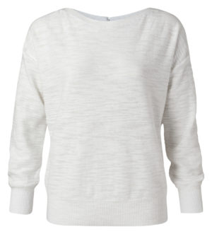 sweater met rib boorden van yayasweater met rib boorden van yaya