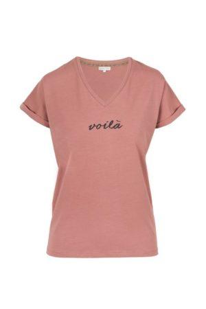 no28wonen.nl -Zusss blousejurk met ceintuur bladprint - no28wonen en lifestyle