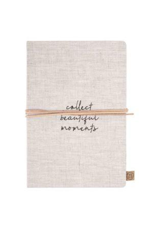 no28wonen.nl - Zusss notitieboek collect moments linnen - no28wonen en lifestyle