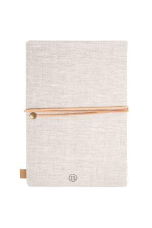 no28wonen.nl - Zusss notitieboek koester linnen - no28wonen en lifestyle