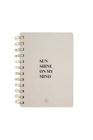 no28wonen.nl - Zusss notitieboekje sunshine zand - no28wonen en lifestyle