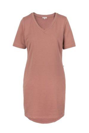 no28wonen.nl -Zusss zachte t-shirtjurk rouge - no28wonen en lifestyle