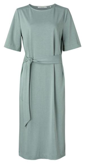 no28wonen.nl - Jersey jurk met riem - no28wonen en lifestyle