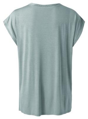no28wonen.nl -cupro t-shirt blauw - no28wonen en lifestyle