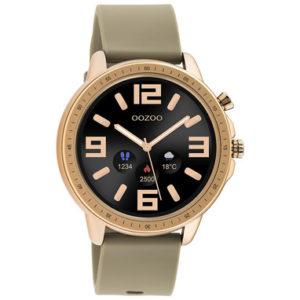 smartwatch Q00302 van Oozoo taupe -wonen en lifestyle webshop no28wonen