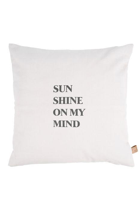 Zusss - buitenkussen sunshine 45x45cm zand shop je bij no28.nl