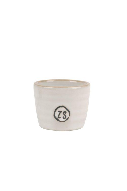Zusss - eierdopje aardewerk wit - wonen en lifestyle webshop no28wonen