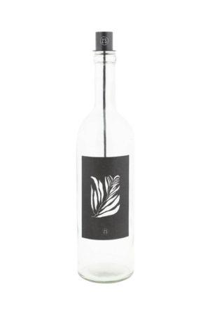 Zusss - kaarsenhouder in fles zwart shop je bij no28.nl