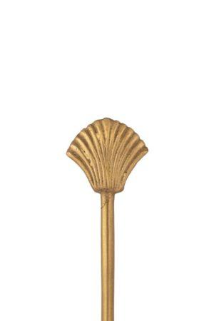 Zusss - vorkje schelp goud shop je bij no28.nl