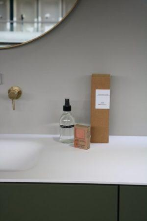 Wellmark roomspray helder glas frisse linnen 250 ml - wonen en lifestyle webshop no28wonen