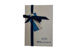 Wellmark - giftbox kind heart bruin glas messing pomp - wonen en lifestyle website no28wonen