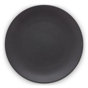 vt wonen- dinerbord-matt-zwart-wonen en lifestyle webshop no28wonen