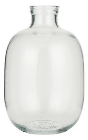 IBLaursen - glazen heldere ballon vaas - no 28 wonen & lifestyle