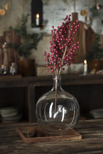 IBLaursen - glazen ballon vaas rond - no 28 wonen & lifestyle