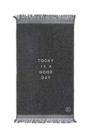 Zusss badhanddoek good day 60x115cm antracietgrijs wonen en lifestyle webshop no28wonen