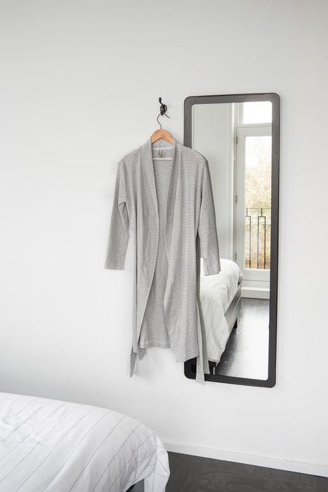 Zusss badjas met streep wit wonen en lifestyle webshop no28wonen