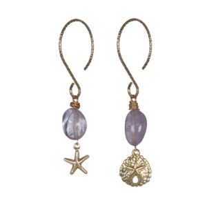 oorbellen fruity pearls lila van Pimp en Pearls -wonen en lifestyle webshop