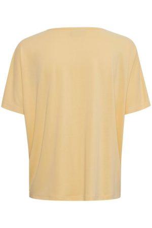 Kaffe KAliffa t-shirt golden haze no28wonen.nl wonen en lifestyle webshop