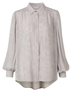 blouse met streep dessin van yaya -wonen en lifestyle webhopno28wonen.nl