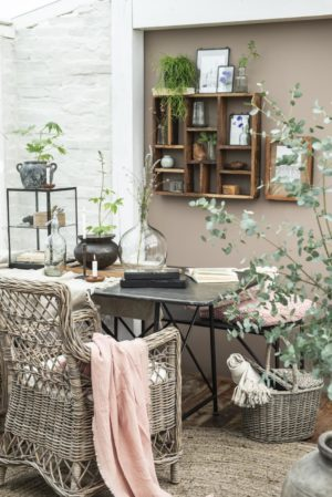 Vitrinekastje met plank IBLaursen - wonen en lifestyle webshop no28wonen