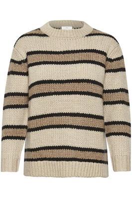 Pullover streep Kamolisa van Kaffe - wonen en lifestyle webshop