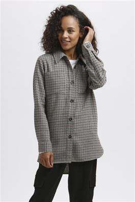 KAseca geruit overhemd van KAffe - wonen en lifestyle webshop no28wonen.nlq