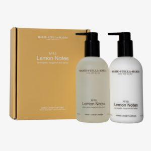 marie stella maris Hand en Body gift set lemon notes no28wonen.nl wonen en lifestyle webshop