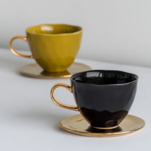 Urban Nature Culture - Goodmorning mug mini amber green - no28wonen.nl - wonen en lifestyle webshop