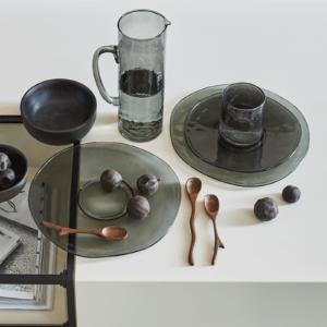 Urban Nature Culture - (water)kan gerecycled glas ebony - no28wonen.nl wonen en lifestyle webshop