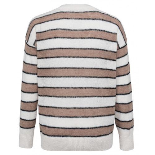 YAYA - Gestreepte trui met lange mouwen meerkleurig - wonen en lifestyle webshop no28wonen