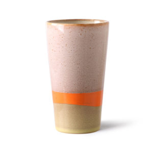 HKliving - 70's keramiek: latte mok - wonen en lifestyle webshop no28wonen