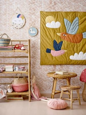 Bloomingville Hubert kruk bananenpalmschors - wonen en lifestyle webshop no28wonen
