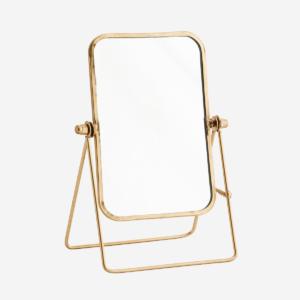 Madam Stoltz - Staande spiegel goudkleurig - wonen en lifestyle webshop no28wonen