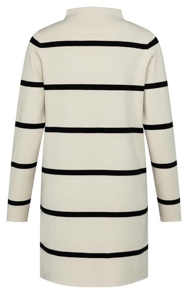 YAYA - Gebreide jurk met strepen en lange mouwen - wonen en lifestyle webshop no28wonen