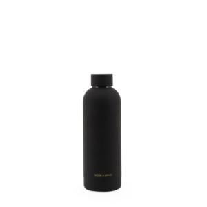 water fles van Monk en anna zwart -wonen en lifestyle webshop