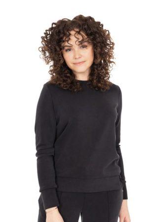 Zusss - fijne sweater off-black - no28wonen.nl