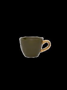 espresso kopje groen van Urban nature culture -wonen en lifestyle webshop