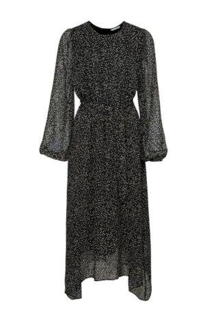 yaya geprinte maxi-jurk met ceintuur no28wonen.nl wonen en lifestyle webshop